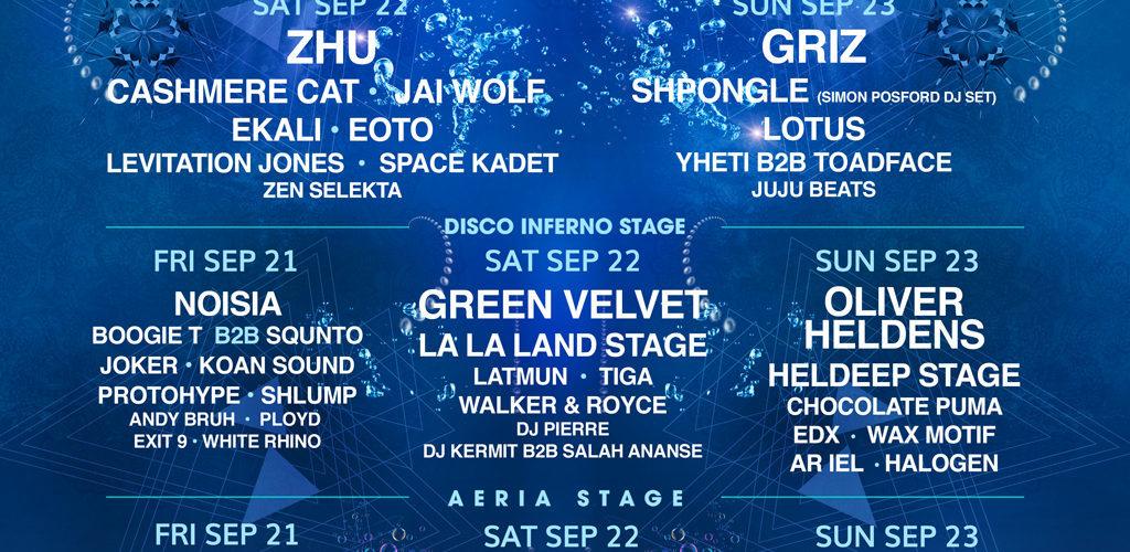 Imagine Festival, Hampton, GA, USA (Simon Posford DJ Set) 23 Sept 2018