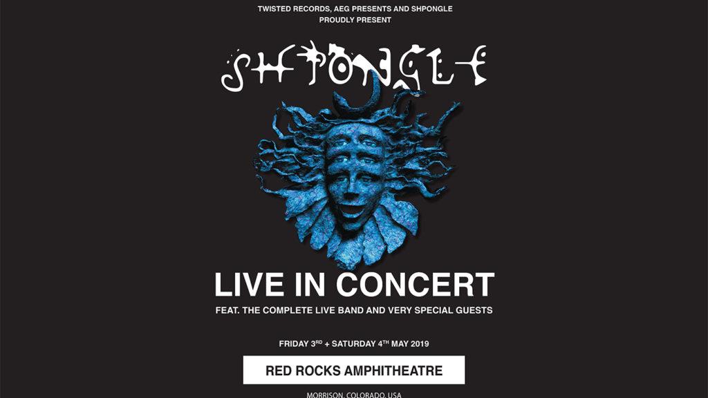 SHPONGLE LIVE IN CONCERT AT RED ROCKS