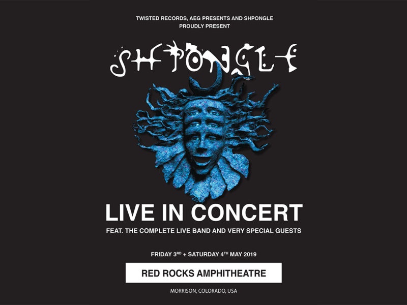 SHPONGLE LIVE IN CONCERT AT RED ROCKS