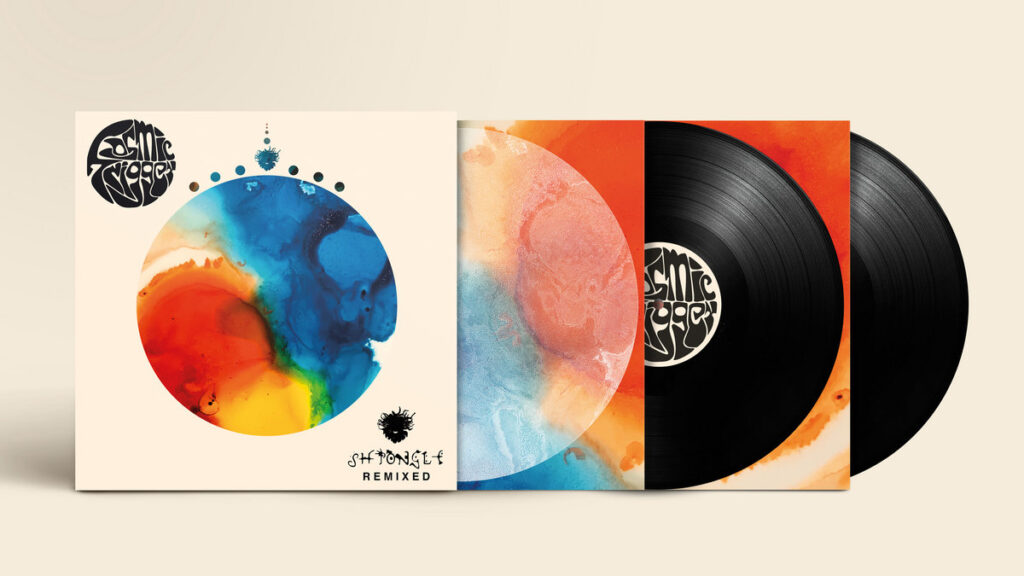Cosmic Trigger - The Shpongle Remixes, available on vinyl from 1st Oct 2021